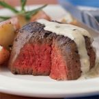 Steak in Whisky Cream Sauce